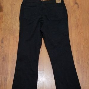 Levis Straus signature black jeans size 14 Long